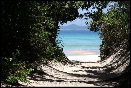 Ilha Grande, Lopes Mendes. entrada a un paraiso