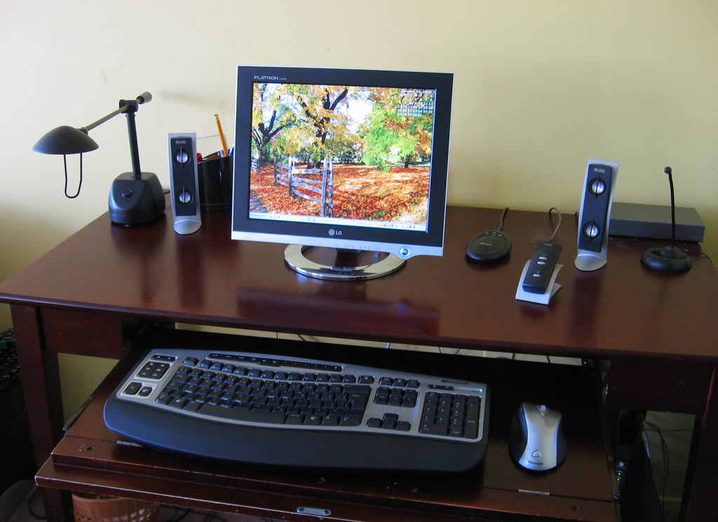 Mon poste de travail - My work station