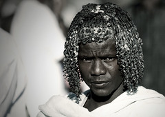 Afar man with butter on his hair, Danakil, Ethiopia (Eric Lafforgue) Tags: africa portrait people haircut men face hair square photography day african muslim islam culture tribal grease butter tradition ethiopia tribe ethnic hairstyle adultsonly oneperson frontview traditionalculture hornofafrica ethnology headandshoulders afar eastafrica traditionalclothing realpeople colorimage lookingatcamera onlymen onemanonly traveldestination danakil 1people pastoralist africanculture aidelkebir nomadicpeople asaita assayta mg1398