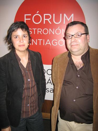 Cristina Alcalá e Pablo Valledor