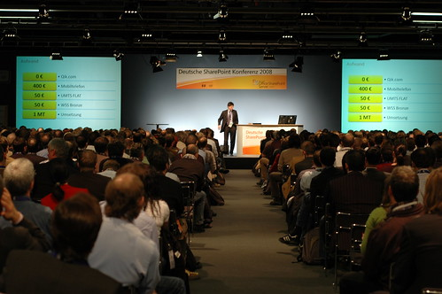 SharePoint Konferenz Frankfurt, Breakout Session