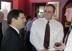 Rep. Bilirakis speaks with constituents during the 9th District Homeowner's Seminar
