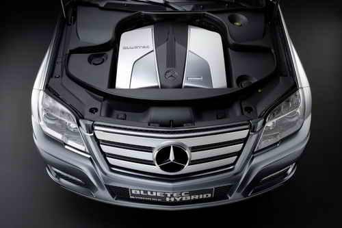 Mercedes Vision GLK BLUETEC HYBRID Car