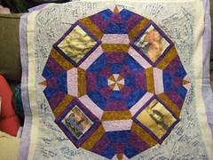 Full quilt before finishing edges