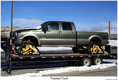 Tracked Truck (Robert W. Thomson) Tags: ford truck montana offroad 4x4 tracks pickup 4wheeldrive f250 treads