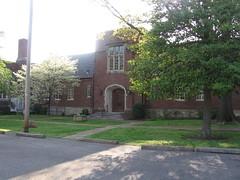 Inner Courtyard of Cumberland Presbyterian