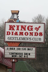 King of Diamonds Gentlemen's Club (anglerove) Tags: minnesota sign gentlemensclub invergroveheights kingofdiamonds msh1109 msh0408 msh04082 msh110915
