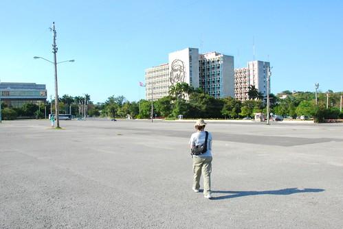 空曠的革命廣場