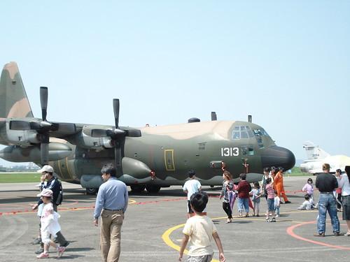 新竹空軍基地參觀