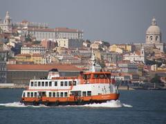 Cacilheiro no Tejo (rgrant_97) Tags: portugal ferry barco lisboa lisbon tagus riotejo ilustrarportugal sérieouro
