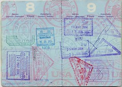 Passport 08 09 () Tags: japan thailand tailandia stamp malaysia passport japon sabah visa pasaporte sello malasia
