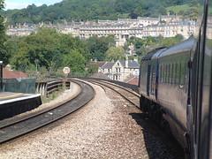 DSCF2773 (mattbuck4950) Tags: england bath unitedkingdom loco trains locomotive gw railways britishrail firstgreatwestern 2007 dmu greatwestern dieselmultipleunit class43 intercity125 firstgroup fgw greatwesternmainline britishrailclass43 bathsparailwaystation