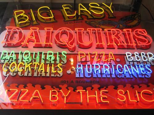 Big Easy Daquiris - neon sign