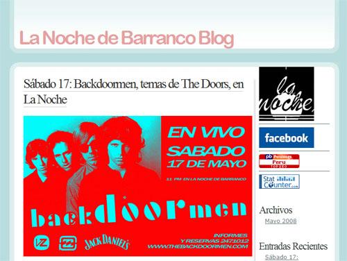 Post La Noche Blog