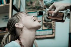 DSC_4752 (Sakuto) Tags: portrait people woman girl beauty face hand drink head caughtintheact beatuful aplusphoto