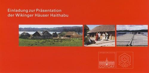 Einladung Wikinger Häuser Haithabu