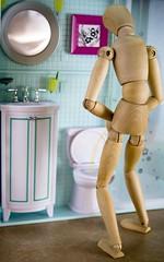 "Organic water... right? (ANVRecife) Tags: macro water canon toy toys bathroom woody monday urinating vallejos 40d conceptphotos ""macro macromondays mondays"" waterthatbirdsdontdrink caughtonaveryvulnerablemoment organicwaternondrinking"
