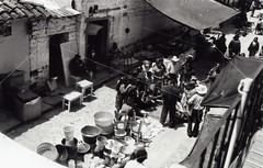 (Rai 幻の光) Tags: white black art film church canon market guatemala central mercado canonet ql17 giii chichicastenango chs centralamerica centroamerica adox oldschoolemulsion