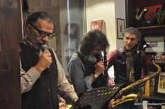 N2122906 (pierino sacchi) Tags: kammerspiel brunocerutti feliceclemente igorpoletti improvvisata jazz letture libreriacardano musica sassofono sax stranoduo