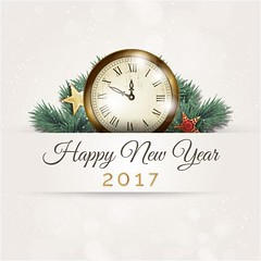 free vector Happy New Year 2017 Wall Clock Background (cgvector) Tags: 2017 abstract background ball brochure card celebrate celebration christmas color cover creative december decoration decorative design dinner element eve festive flyers geometric graphic greeting greetings grunge happy holiday illustration invitation light merry modern new party poligonal poster ribbon season sparkle star symbol template type vector wallclock wallpaper white winter xmas year