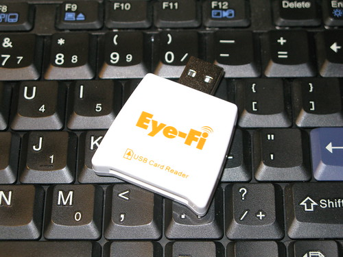 Eye-Fi Card, the card reader