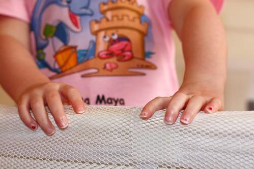 long nails.