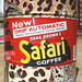 Vintage Dana Brown's Safari Coffee Can St. Louis