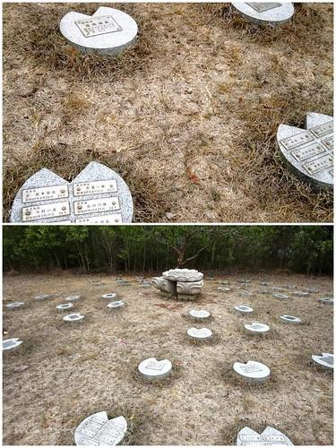 Corregidor Memorial Park Stones