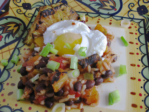 Jerk Inspired Black Beans and Rice