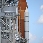 Endeavour, with the RSS in place