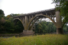 Old bridge, Monocacy River, Frederick, Maryland