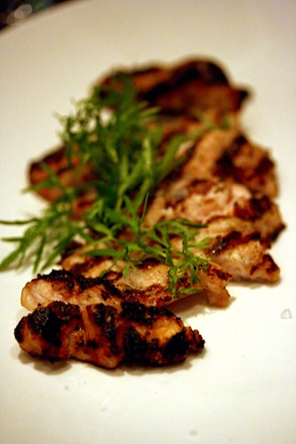 Grilled Veal Sweetbreads