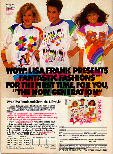Lisa Frank fashion