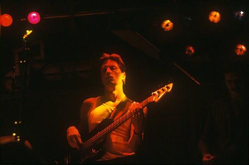 Jack on stage