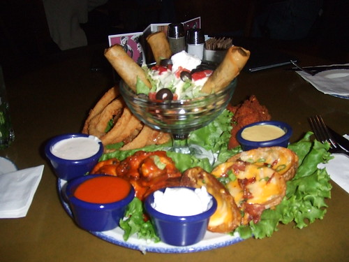 Jumbo Combo starter to share at Hard Rock Cafe