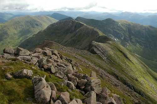 Stob Diamh down the ridge from Cruachan
