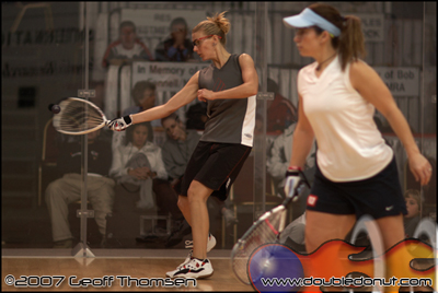 Racquetball Photo: 2007 US OPEN   Rhonda Rajsich