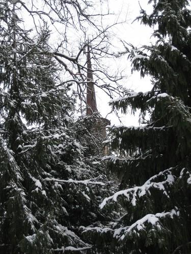 Snow, Steeple