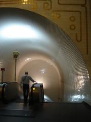 Undergrounding (*F~) Tags: light white man portugal silhouette night underground subway metro lisboa tunel graphical azulejos alvarosizavieira rhizomes undergrounding aplusphoto larméedesombres hourofthediamondlight traditionandmodernityadialog goldenvisions