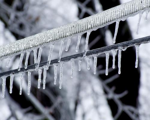Comunicaciones congeladas. Foto de Gwens River City