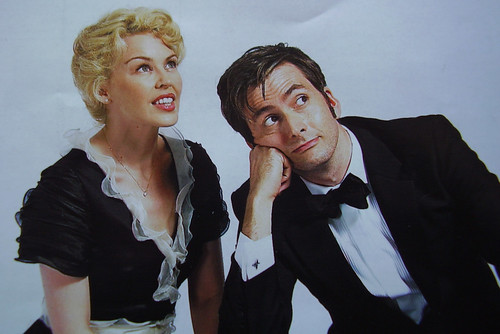 THE TIMES MAGAZINE, Doctor Who, David Tennant, Kylie Minogue, Voyage Of The Damned