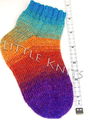 Kureyon Sock before blocking
