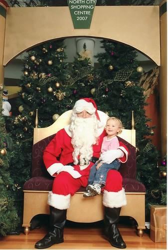 20071215a Kathleen and Santa Claus