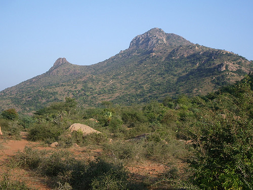 Arunachala Mountain range at Thiruvannamalai