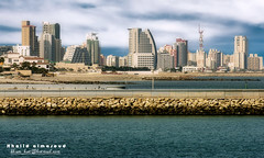New landscape of Al Salmiya City - Kuwait (khalid almasoud) Tags: street new city blue sea tower work mall landscape hotel office al amazing construction nikon photographer gulf top centre group landmark center 25 kuwait areas vistas southeast  2008 khalid largest salmiya voluntary wafra complexes  8800      golddragon almasoud     kuwaitartphoto omniya tasweery tasweerycom