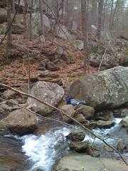 Hiking Jan 08 - Creek 021 (jpatanooga) Tags: haha slippery whoops
