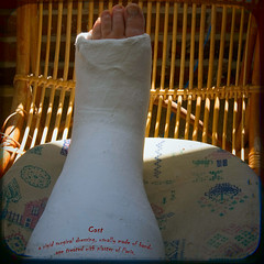 Cast (borealnz) Tags: foot leg cast definition fracture dictionary lensdistortion myleglookshuge butimsureitsnotreallythatbig borealnz
