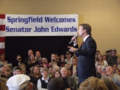 John Edwards in Springfield, MO