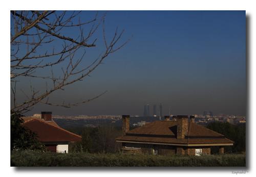 Contaminación en Madrid España