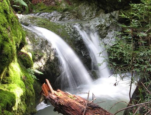 More falling water